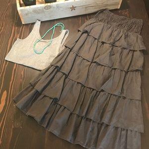Mossimo Maxi Skirt | Boho Skirt Size Small